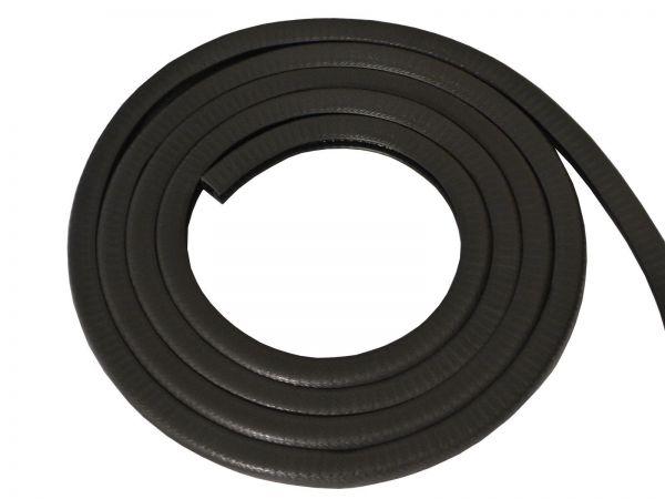 1m Black Pvc Edging Strip 6 8mm Edge W14mm X D15mm