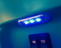 Blue LED Step Light