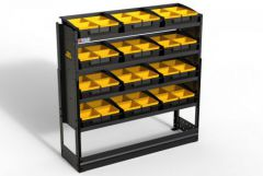 Van Guard Steel Racking 4 Shelves with 12 Trays