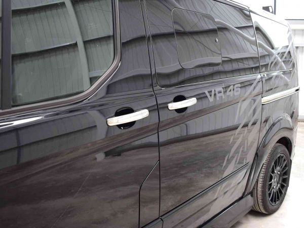 Chrome 4pc Door Handle Covers For Ford Transit Mk8 2014