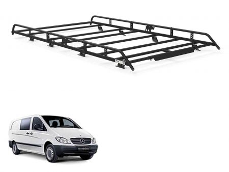 Rhino Delta Bar Ladder Roller Rear System for Mercedes Vito Tailgate 03-14