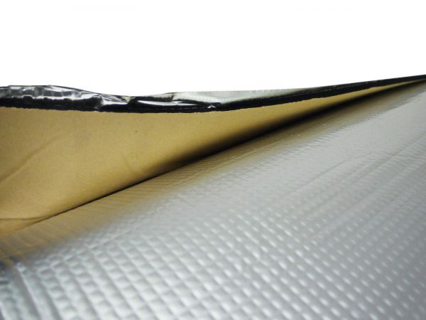 Self Adhesive Foil Backed 10mm Foam Van Insulation 1mx10m