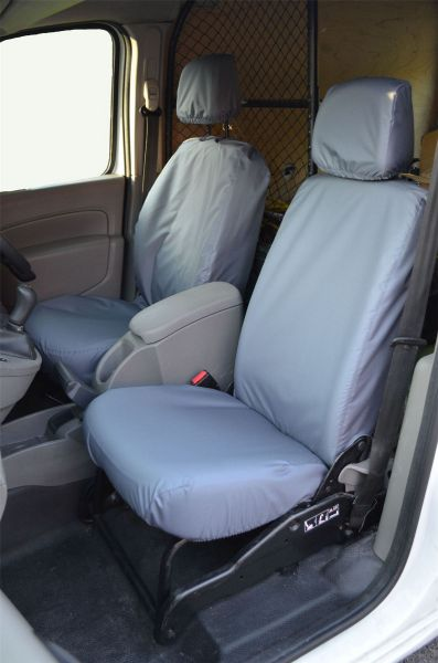 Tailored Front Grey Seat Covers (1+2) - Mercedes Citan