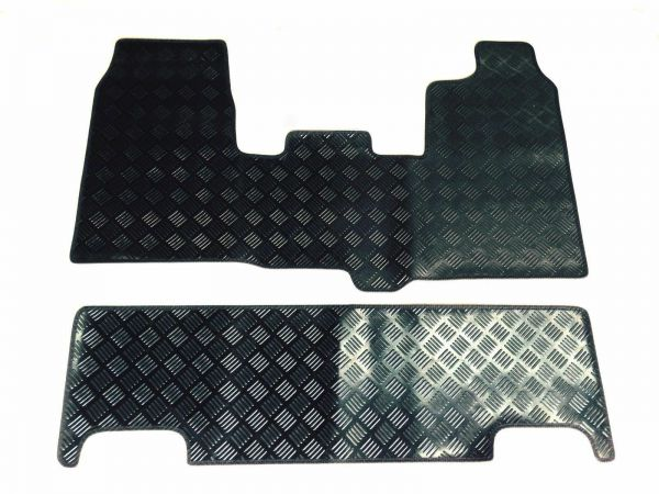 Tailored Van Floor Mats In Heavy Duty Rubber Up1616