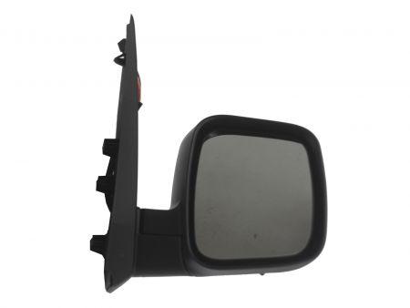 Fiat Fiorino 2008 Door Wing Mirror Heated Electric Black Passenger Side New