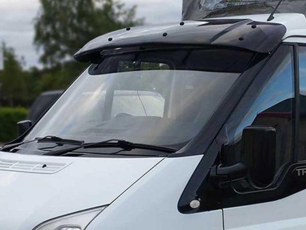 Ford Transit Mk6 7 2000 2014 Black Arylic Sun Visor