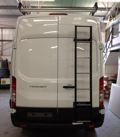 05-09 Extra High Van Guard Galvanised 7 Step Rear Door Ladder for LDV Maxus