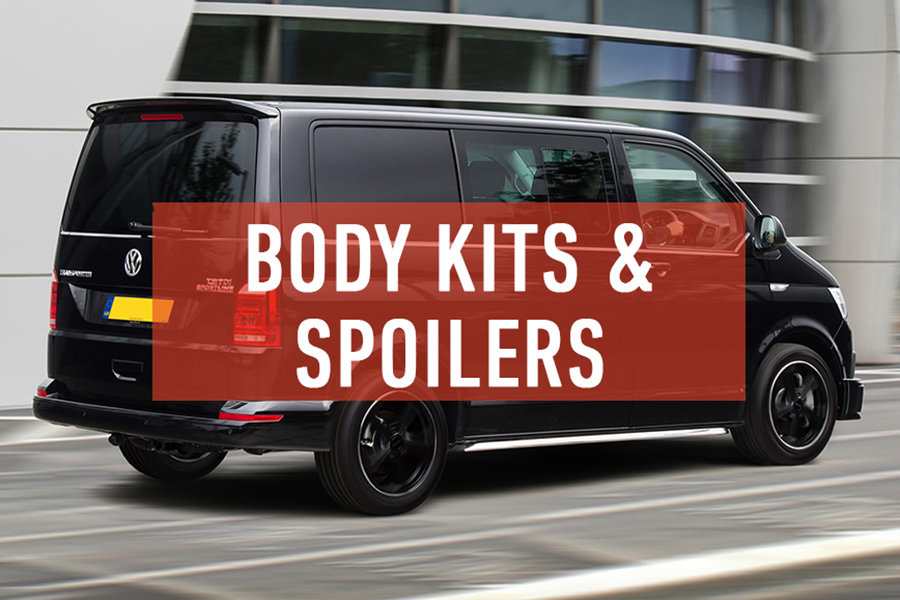 New In: Body Kits & Spoilers