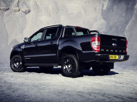 New ford ranger black edition makes debut at frankfurt motor show