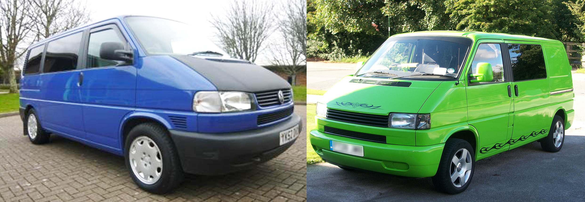 VW Transporter: The Different T's