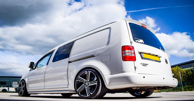 VW Caddy Maxi Takeover