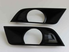 Satin Black Fog Light Covers (2pc)