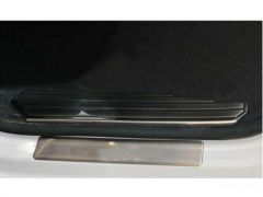 Brushed Chrome Inner Door Sill Covers (4pc)