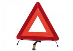 Warning Triangle with Case