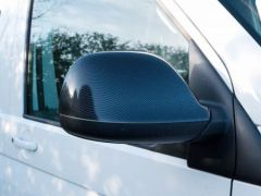 Carbon Effect Mirror Covers