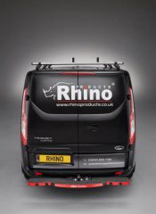 Rhino TowStep in Black with Reverse Sensors