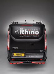 Rhino TowStep Duo in Black with Reverse Sensors