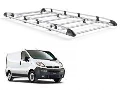 Low Roof, Tailgate Rhino Delta 2-3-4 Roof Bars Rear Ladder Roller Vivaro 2014