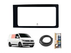 Right Hand Side Panel Clear Fixed Window & Fitting Kit