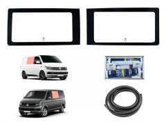 Twin Fixed Side Window Kit in Clear