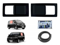 Twin Opening Side Windows Kit in Dark Tint