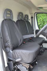 Tailored Front Row w/ Armrest Seat Covers in Black (1+2)