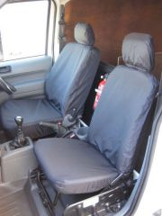 Tailored Front Row w/ Armrest Seat Covers in Black (1+1)