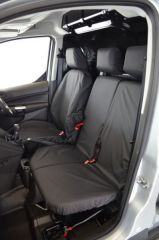 Tailored Front (1+2) & Rear Seat Covers in Black
