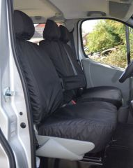 Tailored Seat Covers in Black (9 Seater Minibus)