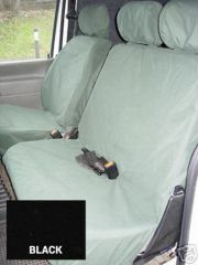 Tailored Front Row w/Armrest Seat Covers in Black (1+2)
