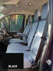 Tailored Seat Covers in Black (Front & Rear Bundle)