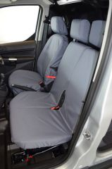 Tailored Front (1+2) & Rear Seat Covers in Grey