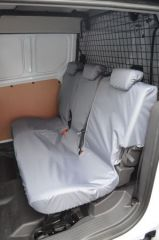 Tailored Front Row Seat Covers in Grey (Double Cab)