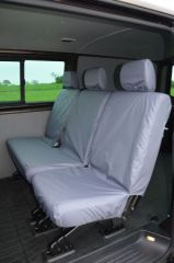 Tailored Mid Row Seat Covers in Grey (1+2)