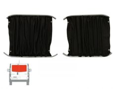 Rear Door Black Out Curtain Kit