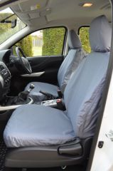 Tailored Seat Covers in Grey (Front & Rear Bundle)