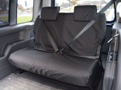 Tailored Mid Row Bench Seat Cover in Black