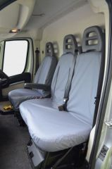Tailored Front Row w/ Armrest Seat Covers in Grey (1+2)