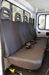 Tailored Rear Bench Seat Covers in Black (4 Pass.Seat)