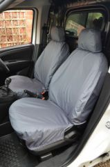 Tailored Front Row Seat Covers in Grey
