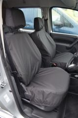 Tailored Front Row Non Fold Pass Seat Covers Black (1+1)