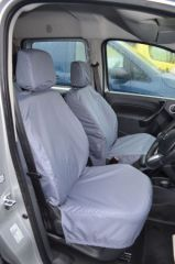 Tailored Front Row Non Fold Pass. Seat Covers Grey (1+1)