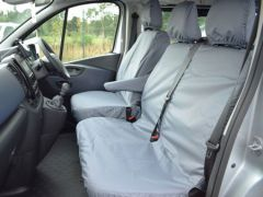 Tailored Front Row Non Fold Pass. Seat Covers Grey (1+2)