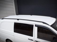 Black Roof Bars (Long)