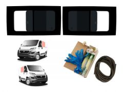 Twin Opening Dark Tint Windows & Fitting Kit