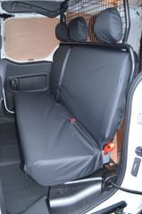 Tailored Triple Rear Bench Seat Covers in Black
