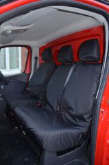 Tailored 9 Seater Seat Covers in Black