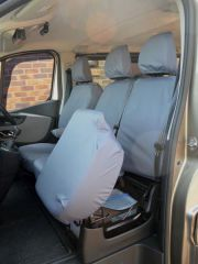 Tailored 9 Seater Seat Covers in Grey (Sportive)