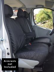 Tailored Black Seat Covers (Front, Mid & Rear Bundle)