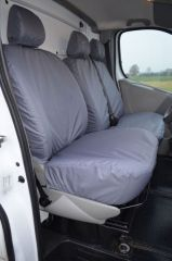 Tailored 9 Seater Seat Covers in Grey